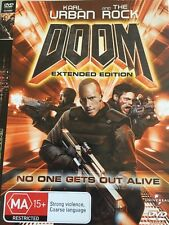 DOOM EXTENDED EDITION DVD - FREE POST HIGHLY RATED AUSSIE SELLER- Free Post!!