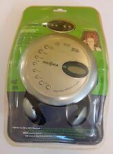 NEW 2005 Insignia Portable MP3 CD Player Anti Skip Protection Headphone Car Kit