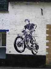 Banksy STEVE MC QUEEN A4 10x8 PHOTO PRINT POSTER