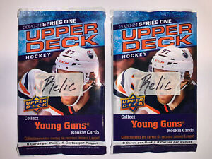 2 - 2020-21 Upper Deck Hockey UD RELIC Hot Pack Auto?