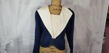 St John Knit Women Business Gray sz Med 14 vintage blazer top