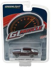 1:64 GreenLight *GL MUSCLE R19* Black Cherry 1970 Chevrolet Chevelle SS *NIP*