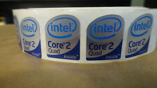 Lot Of 10 Intel Core2 Quad Sticker