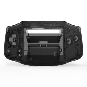Game Boy Advance Shell Case Clear Black IPS GBA RetroSix ABS