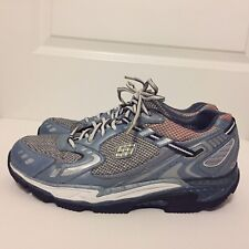 Sketchers Shape Ups Womens Blue Gray AT Toning Fitness Shoes Size 11