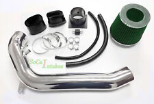 Black Green Air Intake Kit & Filter For 1991-1994 Nissan 240SX S13 Silvia 2.4 L4