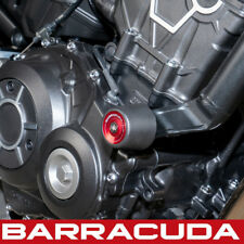 Honda CB1000R Neo Sports Crash Bungs 2018-2019 Barracuda + Red Inserts