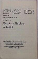 Gli imperi Eagles & LEONI NUMERO 8 (REPRINT) - Rivista di origine NAPOLEONICO