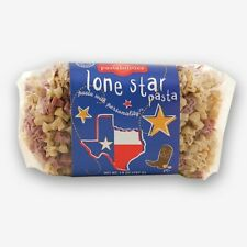 New listing 1 Pack Texas Lone Star Shaped Pasta, All Natural, Made In Usa, Kosher, New