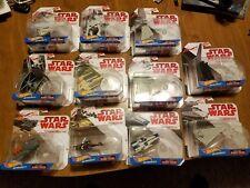 Star Wars Hot Wheels Starships LOT OF 11 Toys Imperial Shuttle Snowspeeder etc