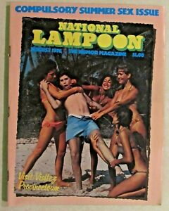 NATIONAL LAMPOON - THE HUMOR MAGAZINE  - ISSUE #77 - 1976 - SUMMER SEX ISSUE