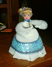 VTG. WALCO Li'L MISSY ALICE IN WONDERLAND BEADED DOLL