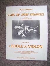 Livre L'ABC du jeune violoniste méthode complète pour débutants Cahier 3