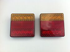 RoadVision LED Water & Dust Proof Trailer Tail Lights X2, 5 Yr Warranty