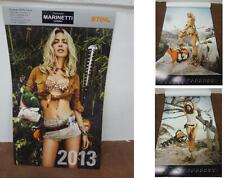 Calendario calendar kalender motoseghe chainsaws STIHL - 2013 - vintage