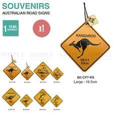 Australian Souvenirs Road Signs Sydney Metal Bulk Aussie Gift Kangaroo Large