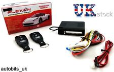Universal Remote Central Locking Kit Keyless Entry LED ind trunk window roll-up