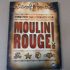 songbook MOULIN ROUGE songs form Baz Luhrmann's film