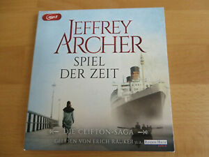 """Hörbuch 2 mp3 - CDs """"Spiel der Zeit"""" (Die Clifton-Saga Bd. 1)"""