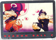 DRAGON BALL Z série 2 n° 3 - SANGOKU ET VEGETA (A2702)