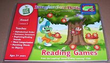 LEAP FROG IMAGINATION DESK READ LESSON 3 CARTRIDGE & BOOK FACTORY SEALED 2002