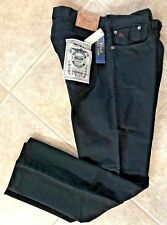 Polo Ralph Lauren Mens Jeans 34 32 Thompson Relaxed Fit Hudson Black Denim NWT