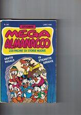 1988 10 - MEGA ALMANACCO WALT DISNEY - 10 1988 - N.382 - SENZA REGALI