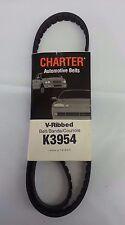 Serpentine Belt-Automotive V-Ribbed Belt (Standard) Gates Charter K3954
