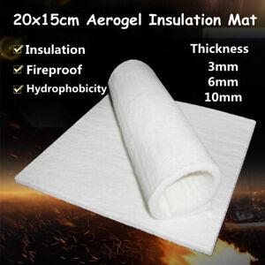 Keramikfasermatte Hochtemperatur Keramikfaser Matte Isolierung 20x15cm 3/6/10mm