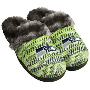 Seattle Seahawks NFL Women's Peak Slide Slippers, Size Small (5/6) New With Tag