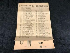 Vintage Kitchen Specialists E. Dehillerin Manufactures Catalog Facsimile