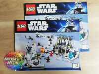 LEGO - INSTRUCTIONS BOOKLET ONLY Hoth Echo Base - Star Wars - 7879