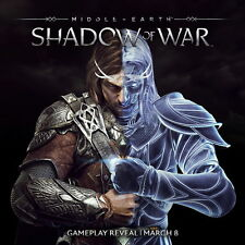 """005 Middle Earth Shadow of War - Army Orc Fight Game 24""""x24"""" Poster"""