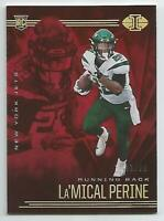 LA'MICAL PERINE /99 ROOKIE CARD 2020 PANINI ILLUSIONS NEW YORK JETS RC