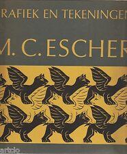 M.C. ESCHER - Grafiek en Tekeningen - 1960