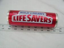 One (1) Lifesavers Wild Cherry Heritage Tin Gift Box Empty Collection Cash