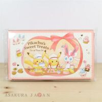Pokemon Center Original Pikachu's Sweet Treats Memo Pad Set