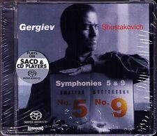 SACD: Valery GERGIEV: SHOSTAKOVICH Symphony 5 & 9 KIROV Neu Mariinsky Orchestra