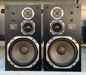 Diatone DS-730ll Speaker System Type 3ways 3 Speaker Audio From Japan