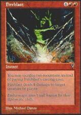 MTG magic cards 1x x1 Light Play, English Fireblast Visions