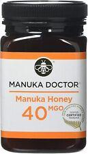 MANUKA DOCTOR, MANUKA HONEY, 40 MGO, Pure Tested Certified New Zealand 500G,