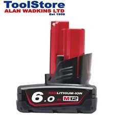 Milwaukee 12v 6ah Battery M12B6 12v 6.0ah Li-on Battery 6.0ah Battery