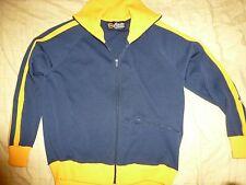Vintage 60s Tennis Varisty Gym Track Jacket Men's S Santa Cruz Skater Made  USA