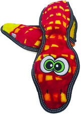 OUTWARD HOUND - Invincibles Tough Seamz Snake Dog Toy Small - 3 Squeakers