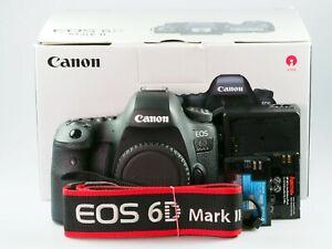 Canon EOS 6D Mark II 27.1MP  Vollformat  >>>Gebrauchtware vom Fachhändler<<<