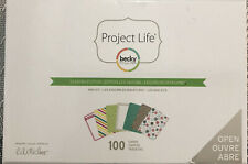 NEW Project Life SEASONS EDITION Mini Kit~Cute Cards!~100 cards