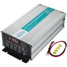 1000W 2000W Convertitore 24V 220V 230V Onda sinusoidale pura Inverter LCD