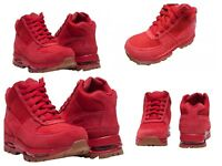 SIZE 2Y NIKE AIR MAX GOADOME (PS) BOOTS / SNEAKERS RED BOY GIRL 311568 602