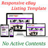 eBay Listing Templates Auction HTML Professional Responsive Mobile Design HTTPS