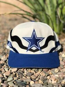 Rare VTG 90s Apex One Dallas Cowboys WOOL Blend Snapback NFL Hat Cap